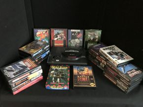 Lot 053 Lot of Assorted Gensis Games and System ITEM CAN BE PICKED UP IN GARDEN CITY