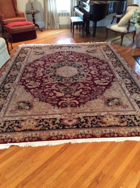Lot 054 Rug 8ft 9Inch X 11ft 10 Inch  ITEMS CAN BE PICKED UP IN GARDEN CITY