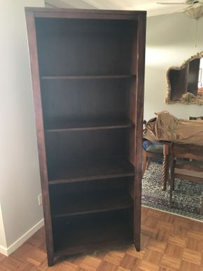 Lot 063 Hooker 4 Shelf Book Case ITEM CAN BE PICKED UP IN GARDEN CITY