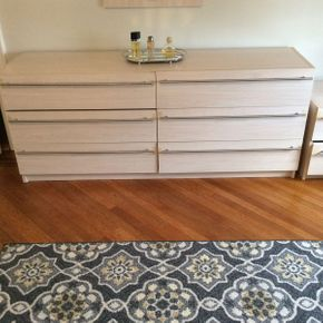 Lot 069 Bellini Formica 6 Drawer Dresser 70L x 29 H x 18D ITEMS CAN BE PICKED UP IN GARDEN CITY