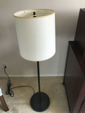 Lot 072 Floor Lamp ITEM CAN BE PICKED UP IN GARDEN CITY