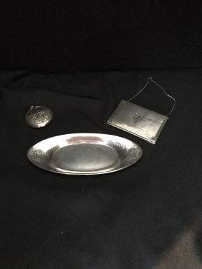 Lot 030 Lot of 3 Sterling Silver Items ITEM CAN BE PICKED UP IN FOREST HILLS