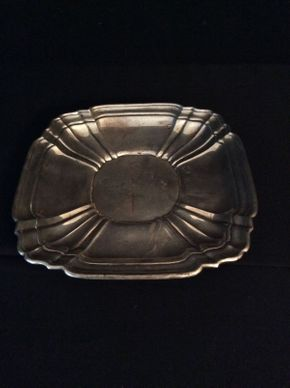 Lot 005 Sterling Silver Gorham Platter 9.5in   ITEMS CAN BE PICKED UP IN RVC