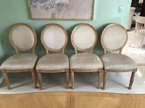 Lot 022 Broyhill Upholstered Dining Room Chairs ITEM CAN BE PICKED UP IN JERICHO