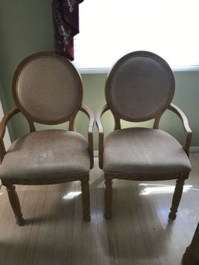 Lot 023 Broyhill Upholstered Dining Room Chairs ITEM CAN BE PICKED UP IN JERICHO
