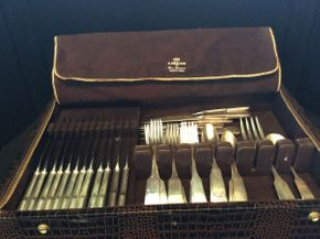 Lot 039 Gorham Old English Sterling Silver Flatware ITEMS TO BE PICKED UP IN WEST HEMPSTEAD