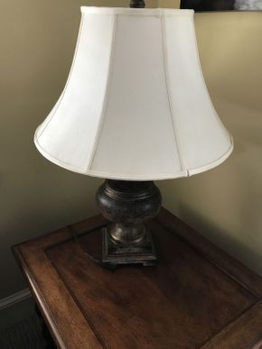 Lot 034 Hampton Bay Lamp ITEM CAN BE PICKED UP IN GARDEN CITY