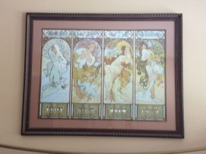Lot 071 Framed Print 44x34.5  ITEMS TO BE PICKED UP IN EAST HILLS