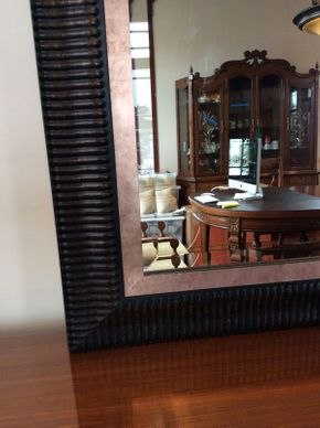 Lot 024 Decorative Mirror ITEM CAN BE PICKED UP IN ATLANTIC BEACH