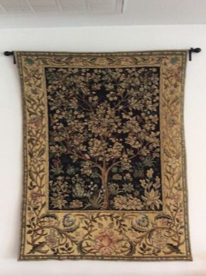 Lot 037 Hanging Wall Tapestry  ITEM CAN BE PICKED UP IN ATLANTIC BEACH