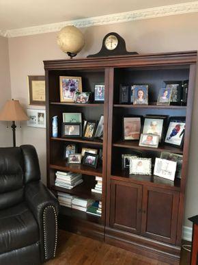 Lot 041 Book Case - Two Pieces. 76H X 18W X 60L. PICK UP IN HUNTINGTON.