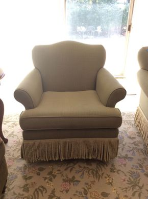 Lot 003 Upholstered Swivel/Rocking Chair ITEM CAN BE PICKED UP IN ROCKVILLE CENTRE