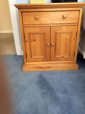 Lot 025 Lane Pine Night Stand   ITEM CAN BE PICKED UP IN ROCKVILLE CENTRE