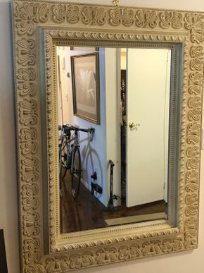Lot 070 Large Decorative Mirror 51H x 49L PICK UP IN ROCKVILLE CENTRE