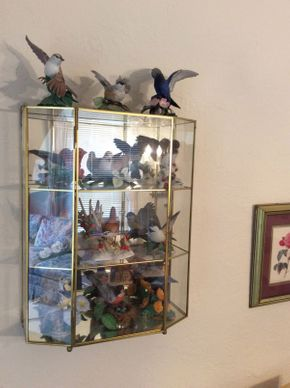 Lot 069 Lot of Various Lenox Porcelain Birds In CaseITEM CAN BE PICKED UP IN ROCKVILLE CENTRE