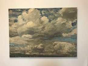 Lot 084 Decorative Print On Canvas 29 x 28 PICK UP IN ROCKVILLE CENTRE