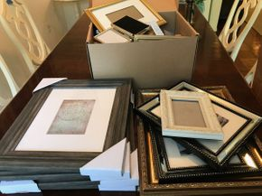 Lot 092 Large Lot Of Frames PICK UP IN ROCKVILLE CENTRE