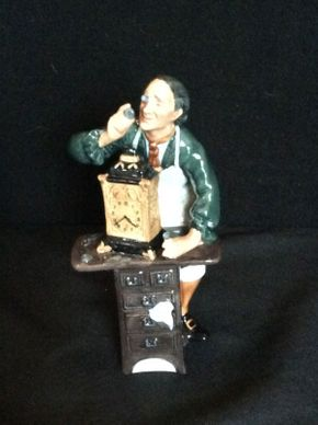 Lot 053 Royal Doulton The Clockmaker ITEM CAN BE PICKED UP IN GARDEN CITY