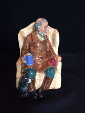 Lot 056 Royal Doulton Uncle Ned ITEM CAN BE PICKED UP IN GARDEN CITY