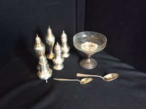 Lot 083 Lot of Assorted Sterling Silver Pieces  ITEM CAN BE PICKED UP IN GARDEN CITY