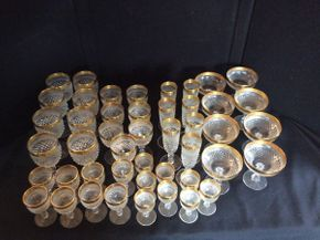 Lot 081 Lot of Assorted Crystal Glasses ITEM CAN BE PICKED UP IN GARDEN CITY