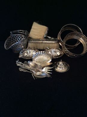 Lot 012 Lot of Various Sterling Silver Items  ITEM CAN BE PICKED UP IN LAWRENCE