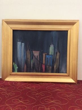 Lot 029 Signed C. Buckley Oil on Canvas ITEM CAN BE PICKED UP IN ROCKVILLE CENTRE