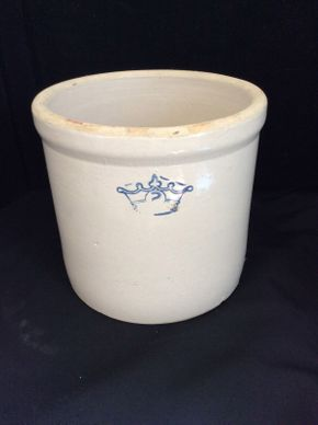Lot 037 2 Gallon Crock 10 inches tall  ITEM CAN BE PICKED UP IN ROCKVILLE CENTRE