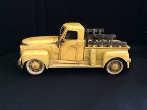 Lot 046 Vintage Decorative Metal Truck ITEM CAN BE PICKED UP IN ROCKVILLE CENTRE