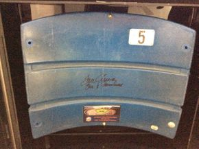 Lot 066 Framed Authentic Shea Stadium Seat  ITEM CAN BE PICKED UP IN ROCKVILLE CENTRE