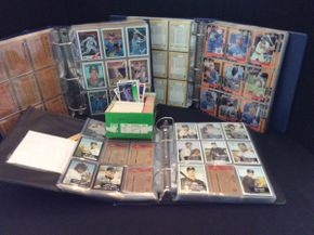 Lot 072 Lot of Various Years Baseball Cards and Books ITEM CAN BE PICKED UP IN ROCKVILLE CENTRE