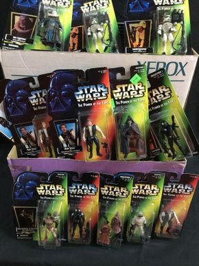 Lot 004 Star Wars, Power Of the Force Small Action Figures