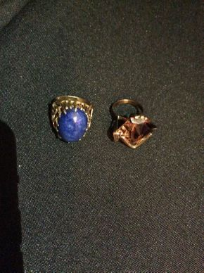 Lot 012 Lot of 2 14K Gold Rings ITEM CAN BE PICKED UP IN ROCKVILLE CENTRE