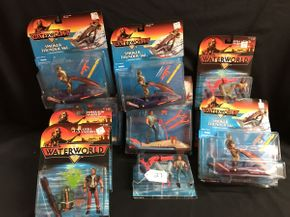Lot 027 Various Water World Figures