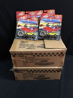 Lot 029 2 Boxes Of  Various Johnny Lightning Cars