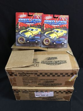 Lot 033 2 Boxes Of Johnny Lightning Cars
