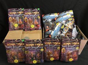 Lot 038 Assorted Star Trek Final Frontier and Next Generation Figures