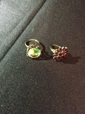 Lot 018 Lot of 2 14K Gold Rings   ITEM CAN BE PICKED UP IN ROCKVILLE CENTRE