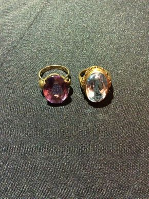 Lot 020 Lot of 2 14K Gold Rings  ITEM CAN BE PICKED UP IN ROCKVILLE CENTRE