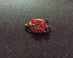 Lot 022 14K Gold Ring  ITEM CAN BE PICKED UP IN ROCKVILLE CENTRE