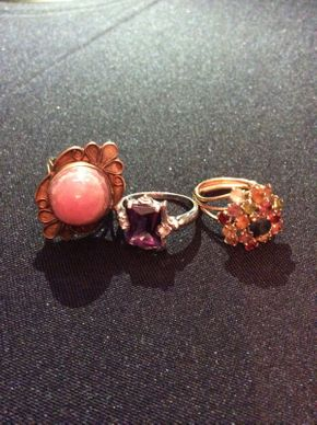 Lot 023 Lot of 3 Gold Rings ITEM CAN BE PICKED UP IN ROCKVILLE CENTRE