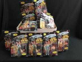 Lot 045 Classic Star Trek Marine Series Figures