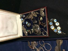 Lot 030 Large Lot of Sterling Silver Jewelry  ITEM CAN BE PICKED UP IN ROCKVILLE CENTRE