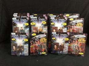 Lot 048 Assorted Star Trek Figures