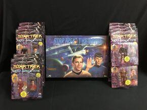 Lot 049 Star Trek Figures and The Star Trek Game