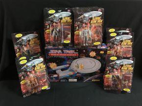 Lot 050 Star Trek Space Series and Marine Series