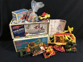 Lot 052 Assorted Matchbox Trucks And Figures