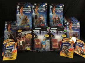 Lot 056 Various Star Trek And Terminator 2 Figures