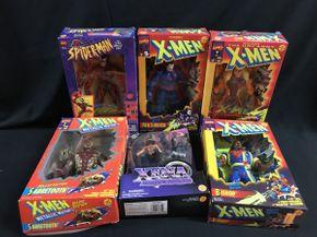 Lot 058 Lot Of X-Men Figures