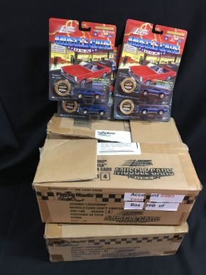 Lot 061 Muscle Cars Die Cast Cars